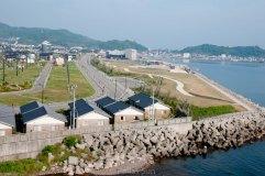 coast along sea of japan