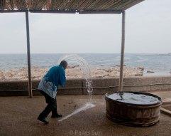 making sea salt