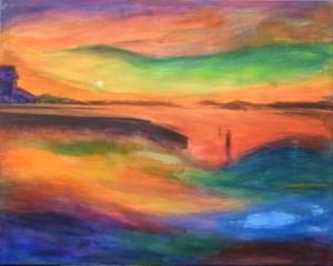 sunrise - at wallop
